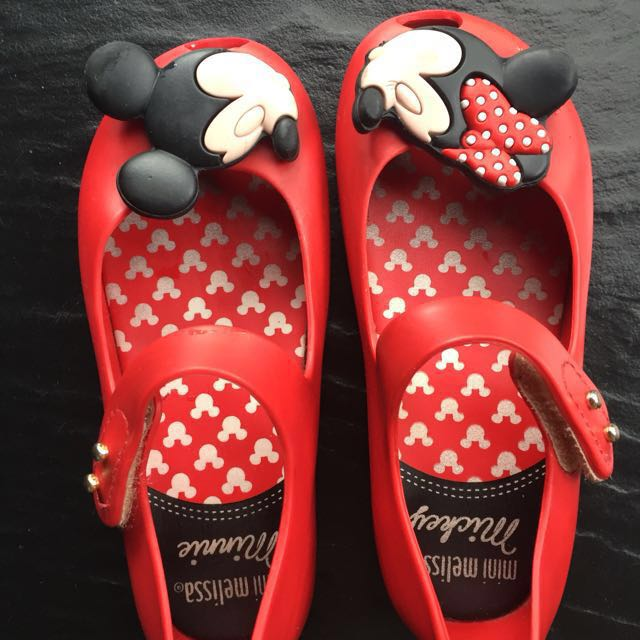 Mini mellisa disney shoes