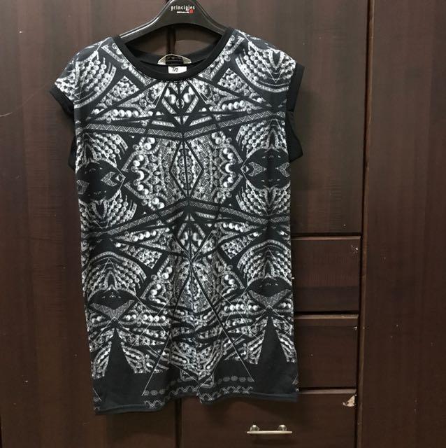 Miss Selfridge black shirt dress