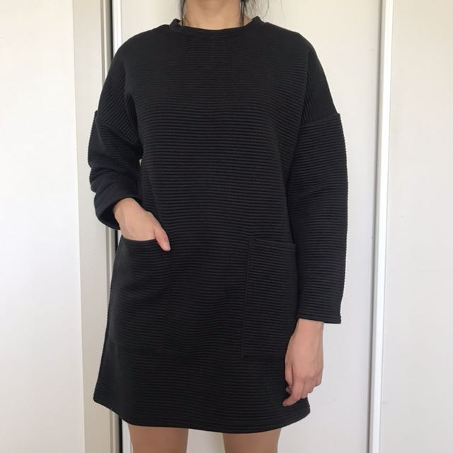 MISSGUIDED ribbed sweater dress
