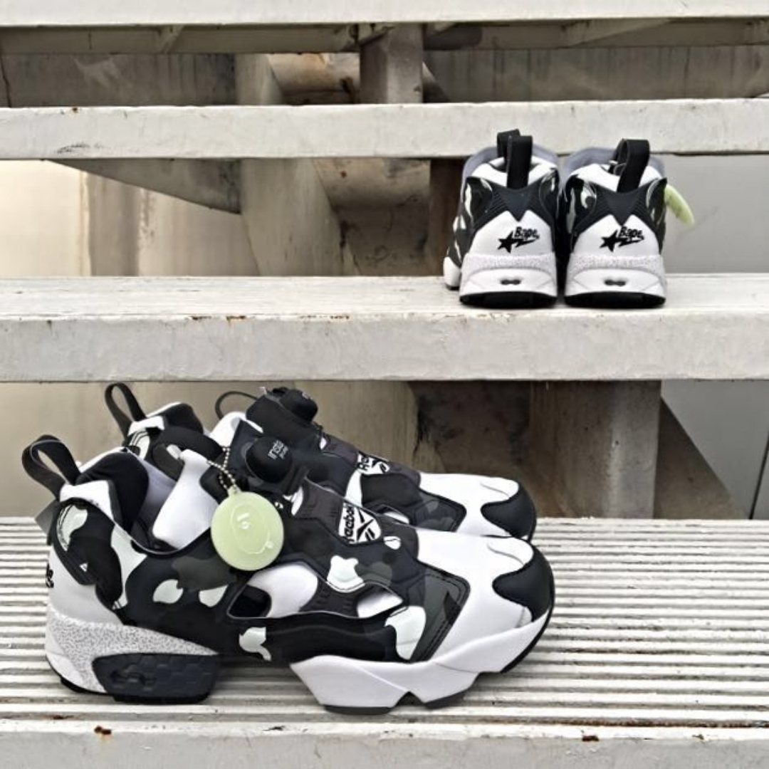 fc05b04c MITA X REEBOK INSTAPUMP FURY X BAPE CITY CAMO, Men's Fashion ...