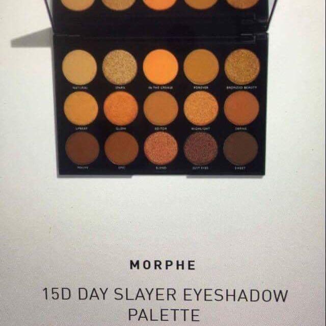 Morphe 15D day slayer pallete