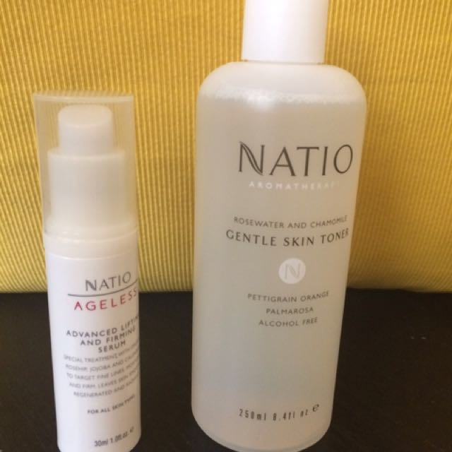 Natio toner + serum