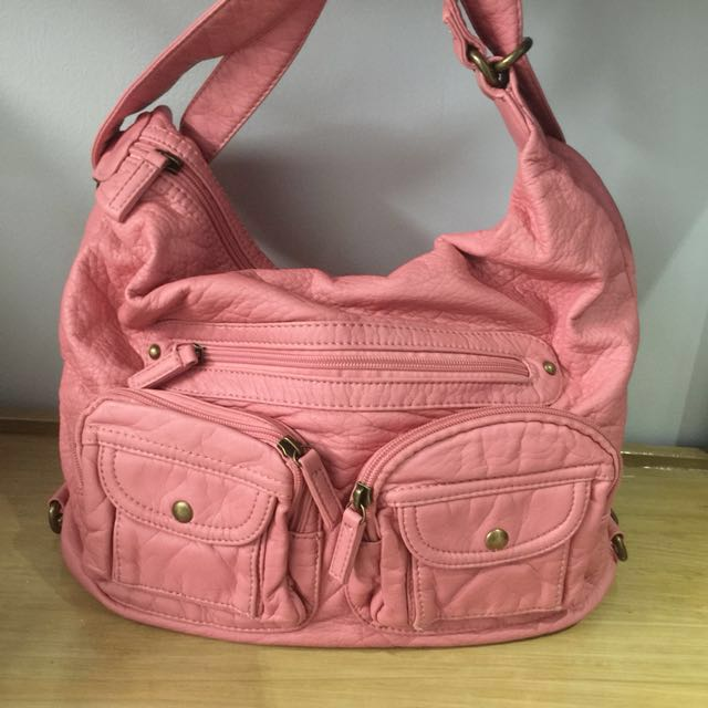 [Never Been Used] Pink Charlotte 3-Way Bag/Purse