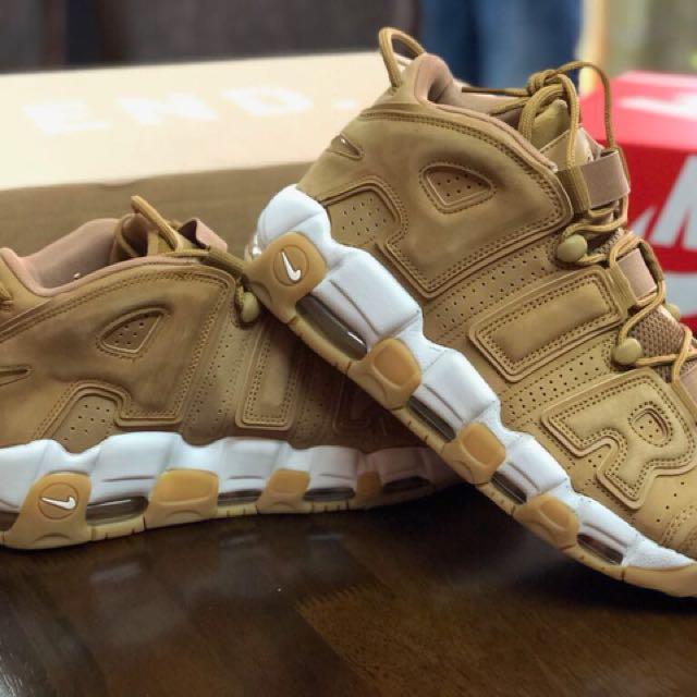 b68d05d034 Nike air more uptempo 96 premium brown, Men's Fashion, Footwear on ...