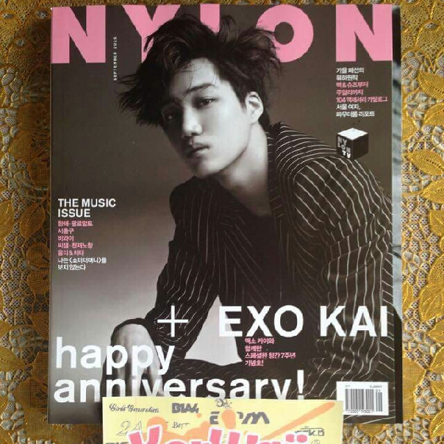 Nylon Korea Ft. Kai
