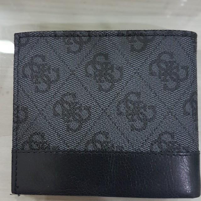 Original Guess man wallet new black