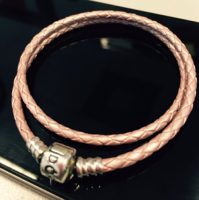 Original Pandora Leather Double Bracelet