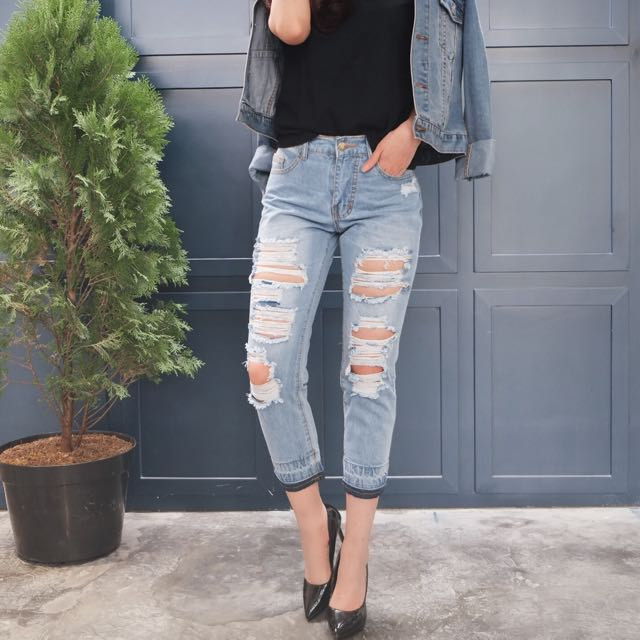 ottobre ripped jeans