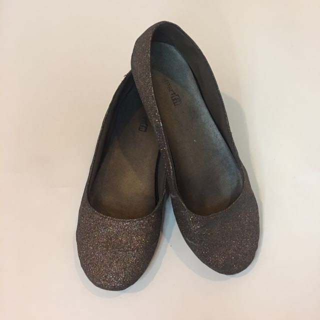 Payless' Smart Fit Brown Glitter Shoes
