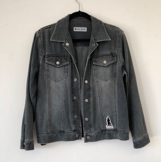 PIERRE CARDIN Grey denim jacket