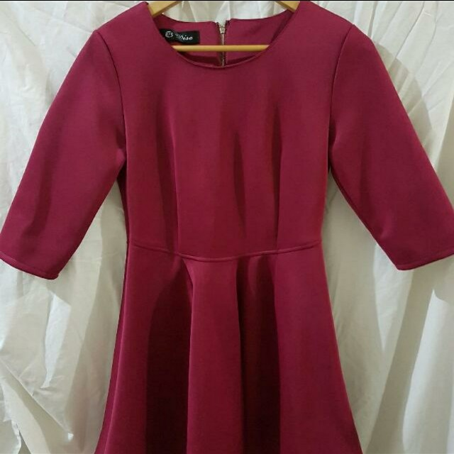 Preloved dress free size