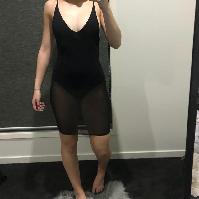 Pretty Little Thing Mesh Dress
