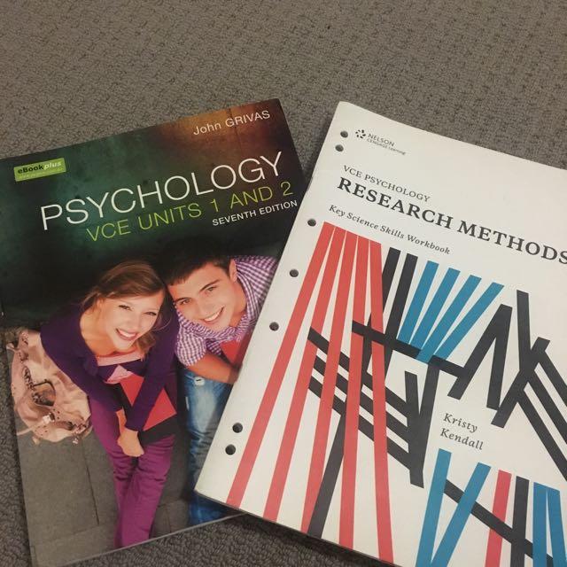Psychology VCE Unit 1&2 Books