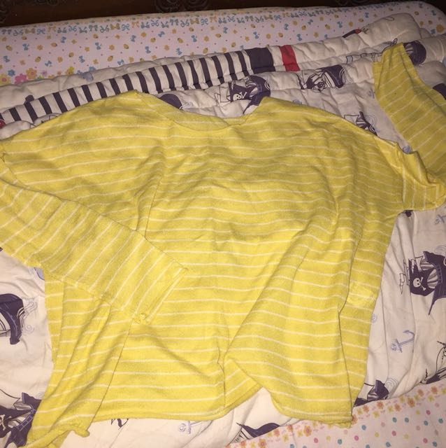 Pull and bear yellow