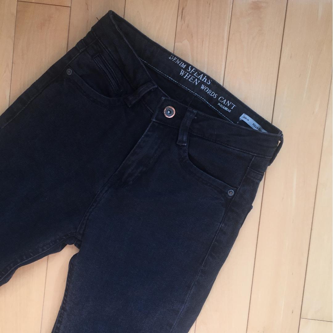 PULL&BEAR Black Jeans