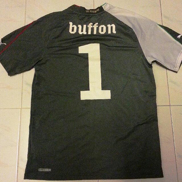 buy online 09976 83b3f RARE Buffon Italy World Cup 2010 GK Jersey Medium Juventus