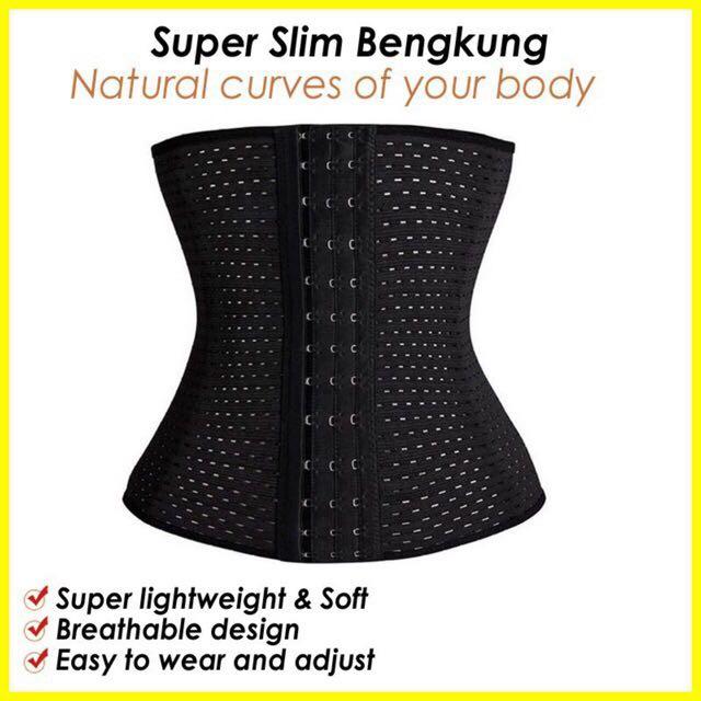 Ready Stock Ultra slim corset body slimming