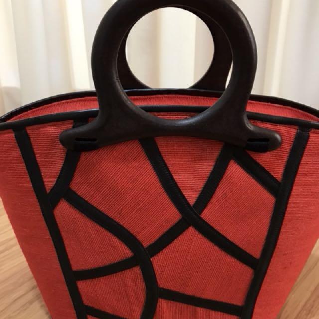 Red Fun Designs Native Manila Hemp Bags