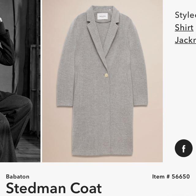 REDUCED: Aritzia Babaton Stedman Coat