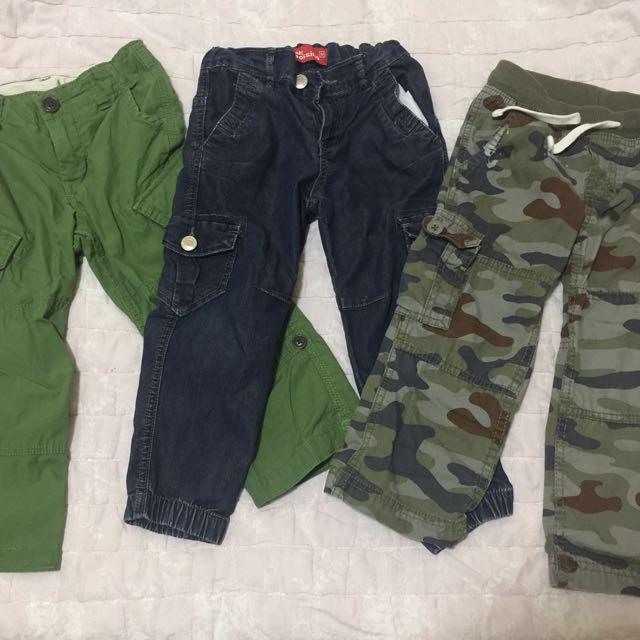 Repriced!!! Bundle- Preloved Boys Pants