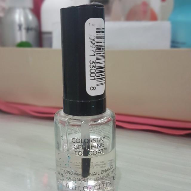 Revlon Colorstay gel shine top coat