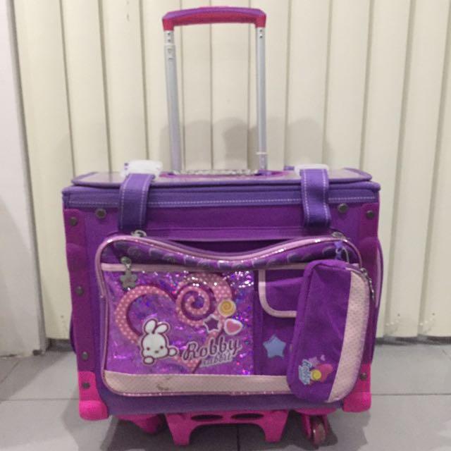Robbie Rabbit stroller bag
