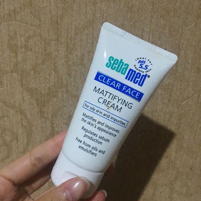 Sebamed mattifying cream