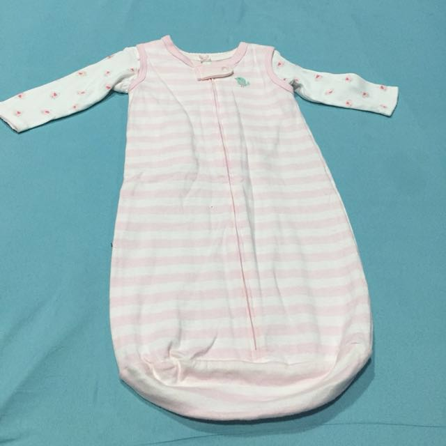 Sleep Sack with longsleeves shirt (washed but never used..bought in USA)