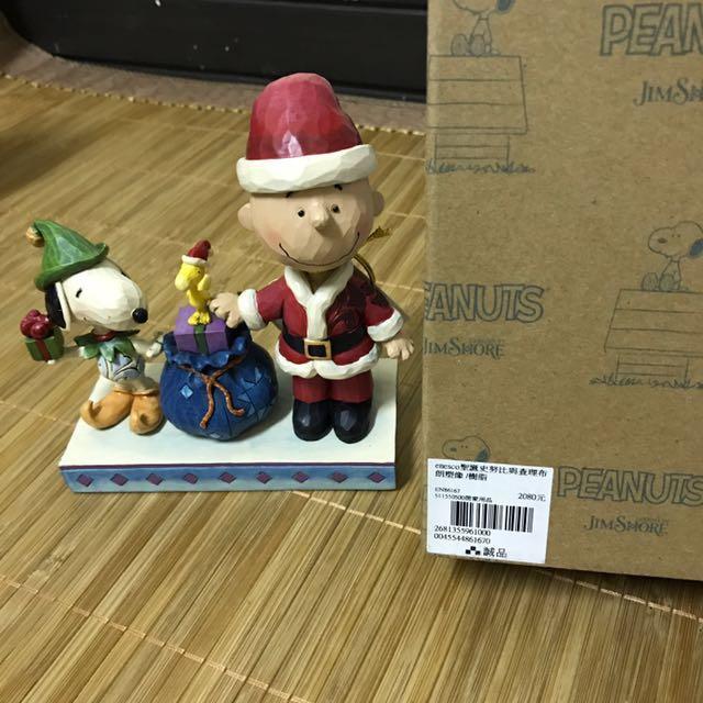 SNOOPY聖誕裝與查理布朗