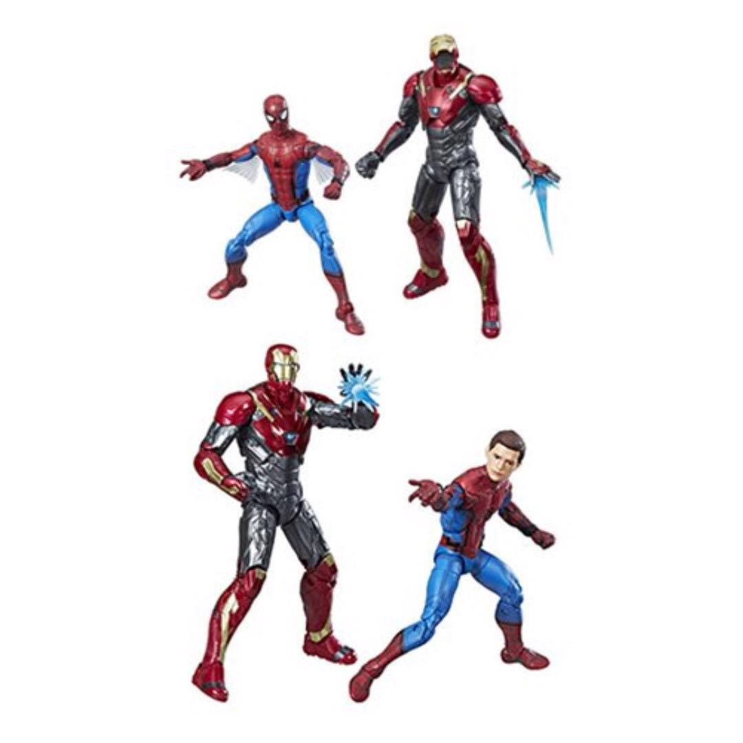 "Marvel Legends Avengers Spider-Man Homecoming 2 Pack Iron Man Sentry 6/"""