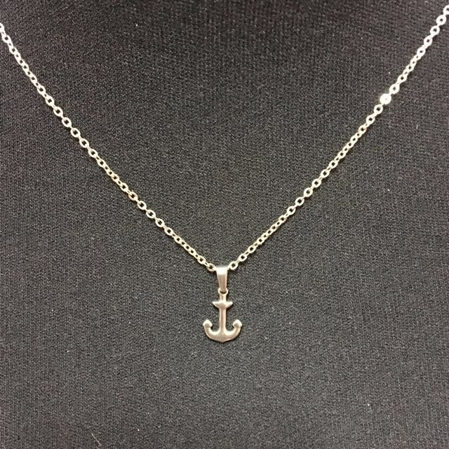 Stainless Anchor Jewerly Set
