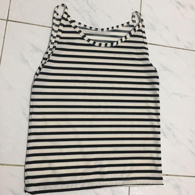 Stripes sleeveless