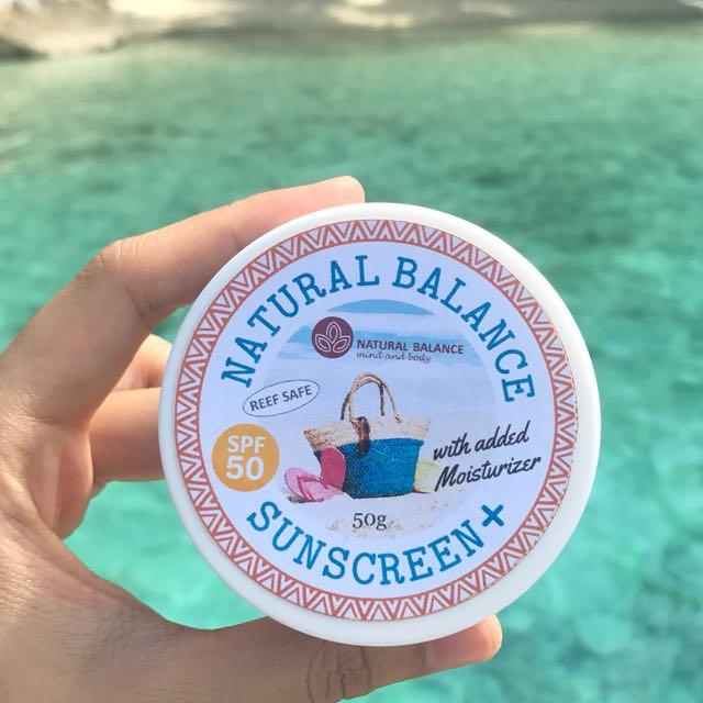 Sunscreen SPF50
