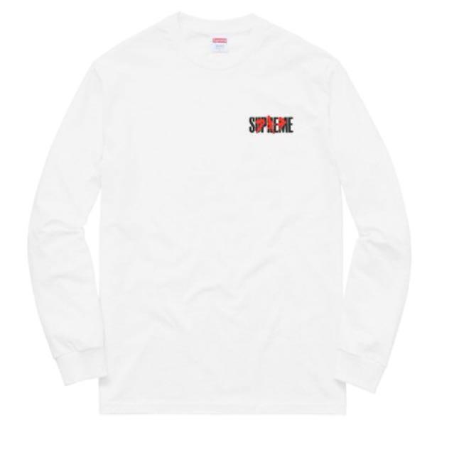 Supreme X Akira Neo-Tokyo Long Sleeve Tee, White M
