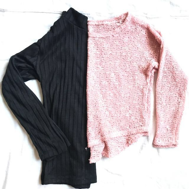 Take All Knitted Sweater Bundle