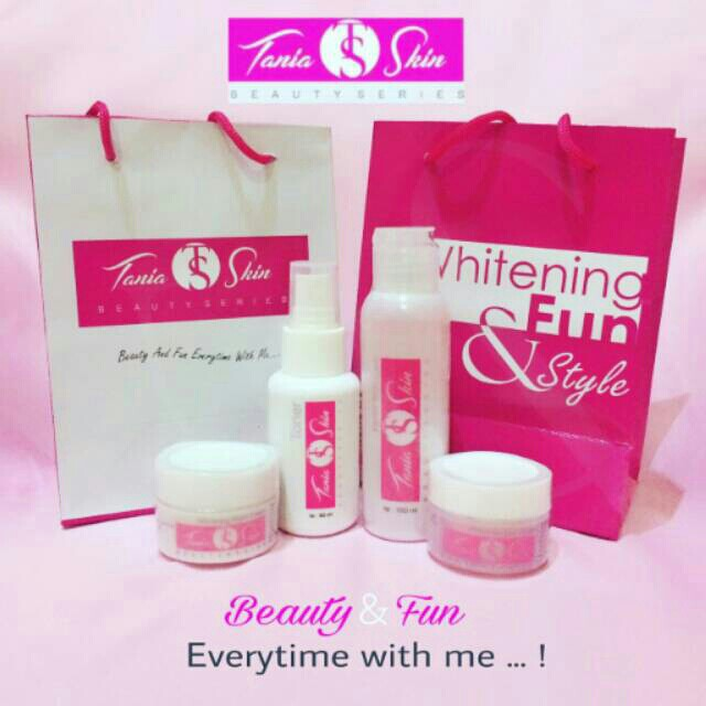 Tania skin care,,,terdiri dari cream siang,malam,toner,sabun