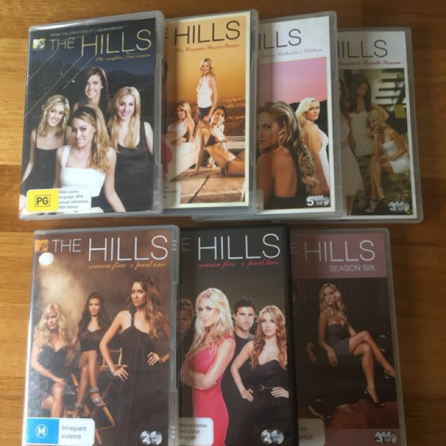 The Hills DVD's