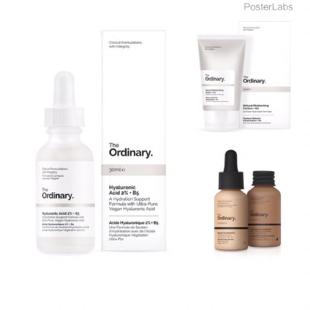The ORDINARY Make-Up ( Pre-Order )
