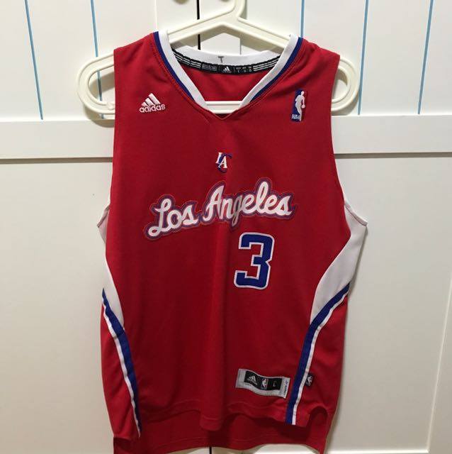 004f4b78bf7 Throwback Chris Paul Los Angeles Clippers Jersey  3