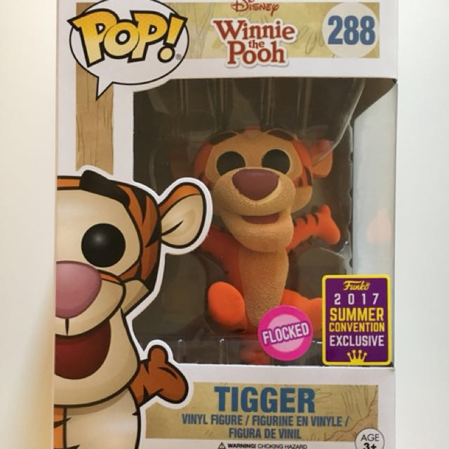 Tigger - Flocked Pop Vinyl - Summer Convention 2017