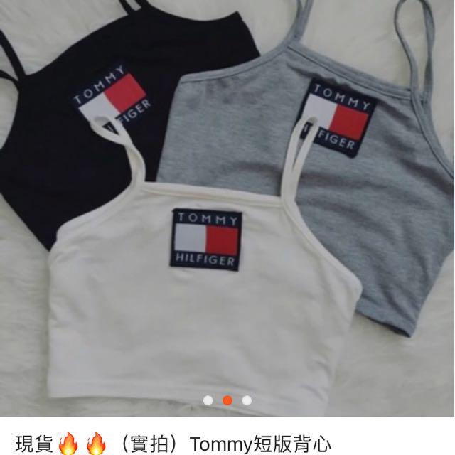 Tommy短版背心
