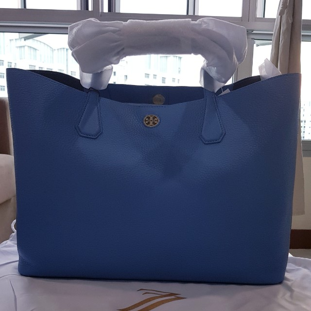 fb55c17f5a6 Tory Burch Perry Tote Sky Blue