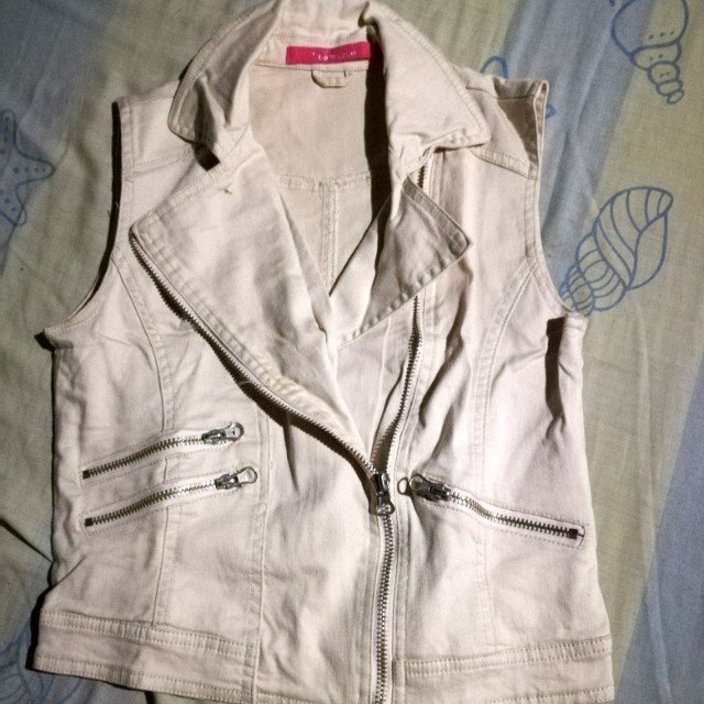 True Love Sleeveless Crop Top (Coat)
