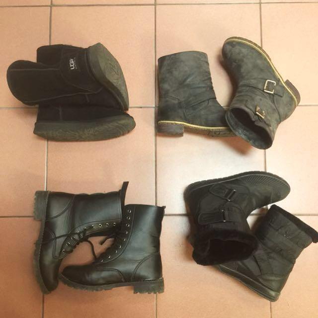 Ugg雪靴 防水靴 工程靴