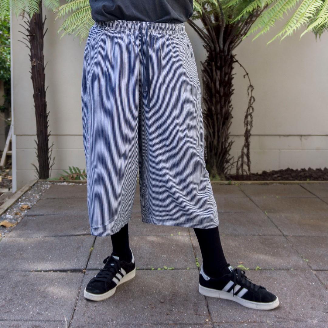 Uniqlo Striped Culottes/Shorts