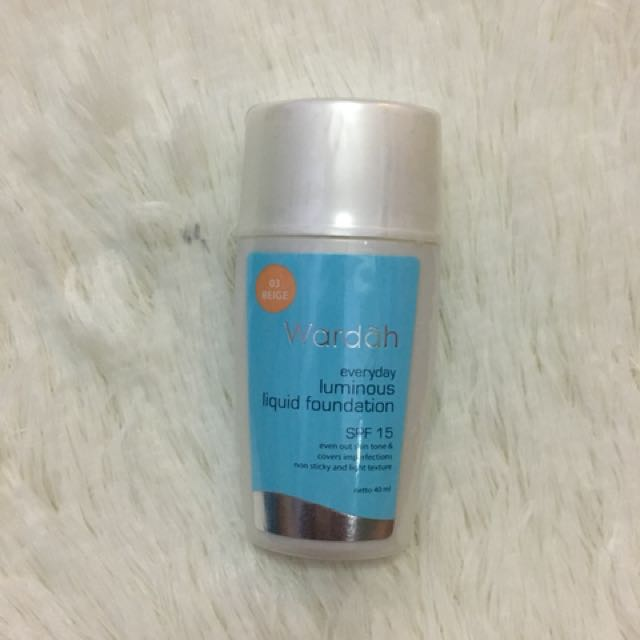 Wardah luminous liquid fondation