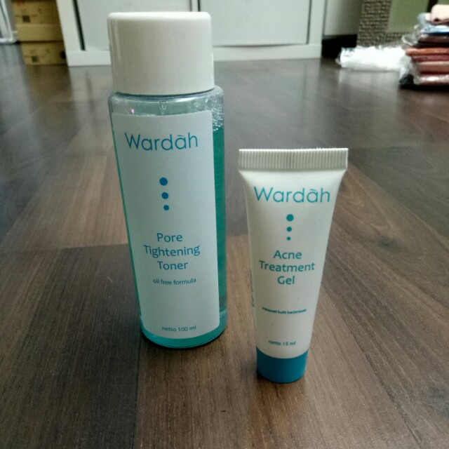 Wardah Toner & Acne Treatment Gel