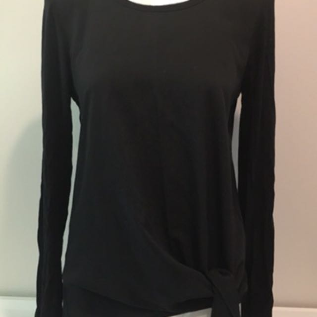 Whistle front tie top