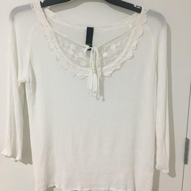White Top - Size 8