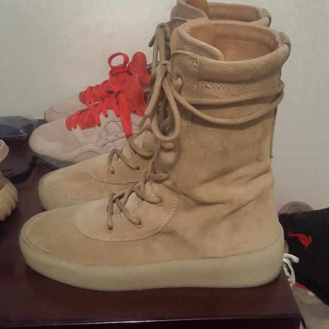 Yeezy Season 4 Crepe Boots